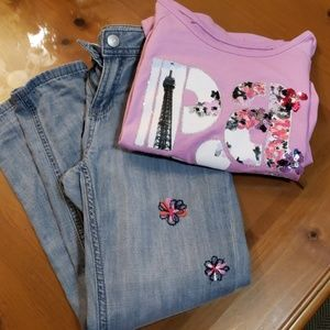 Jean's and shirt